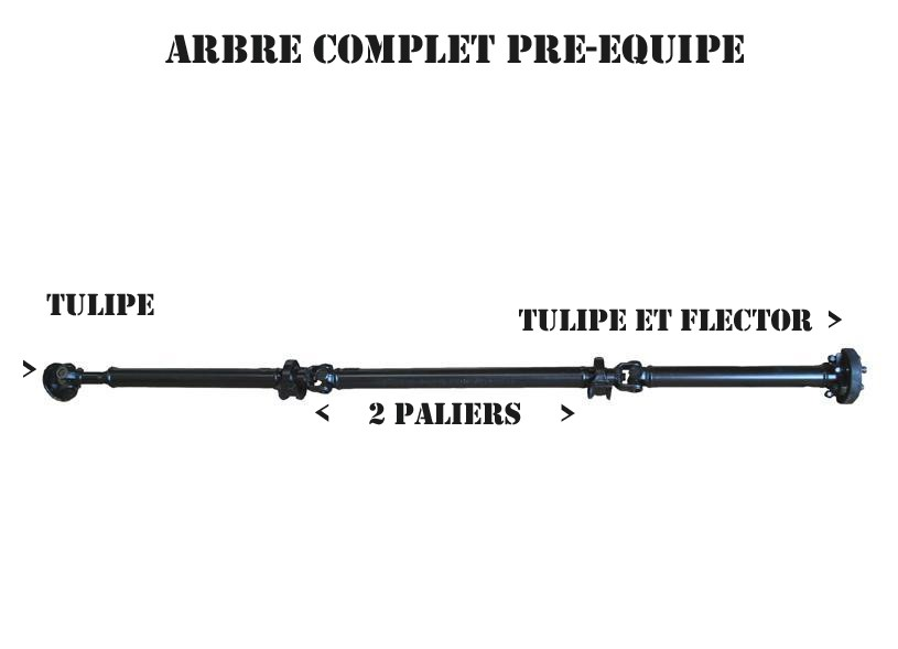 arbre transmission scenic 4x4 rx4 complet exp u00c9dition dom tom