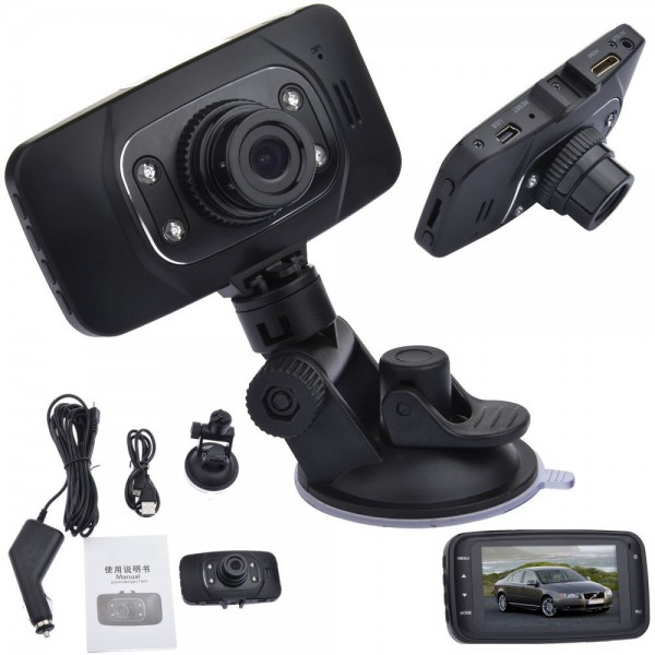 cam ra embarqu e gs8000l dashcam camcorder boite noire pare brise voiture. Black Bedroom Furniture Sets. Home Design Ideas