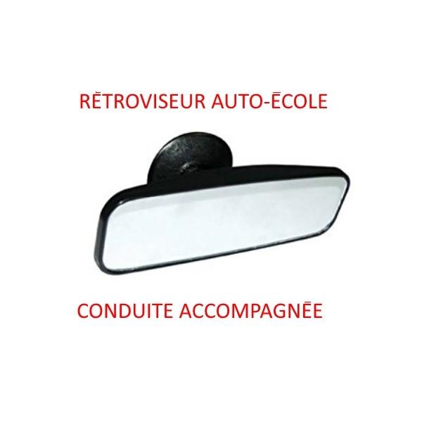 1 retroviseur interieur ventouse auto ecole ou conduite for Retroviseur interieur