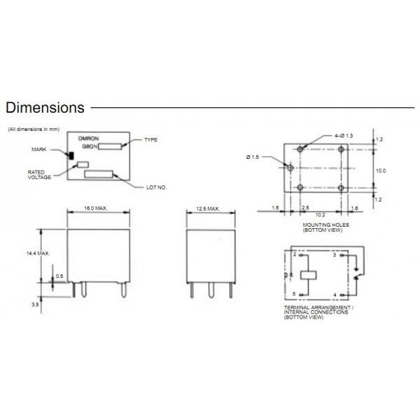 kit reparation pompe dessouder 2 relais omron g8qe direction assitee toyota aygo peugeot. Black Bedroom Furniture Sets. Home Design Ideas
