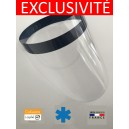 VISIERE PROTECTION PVC Cristal  COVID ANTI POSTILLON CRACHAT PROJECTION GOUTTELETTE