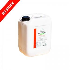 SOLUTION DÉSINFECTANTE 10 litres COVID-19  Désinfectant - Bactéricide - Levuricide - Virucide